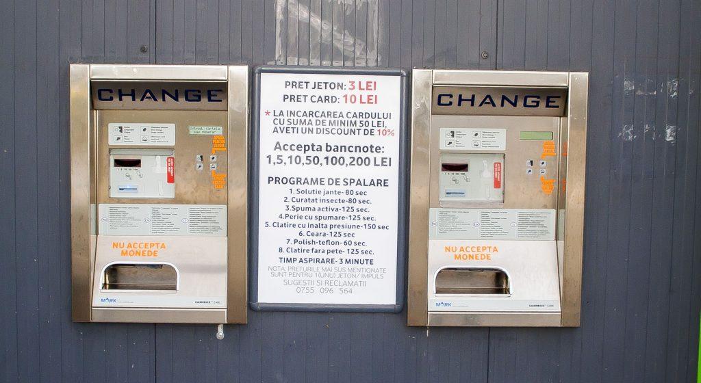 automate incarcare carduri sau eliberare jetoane spalatorie