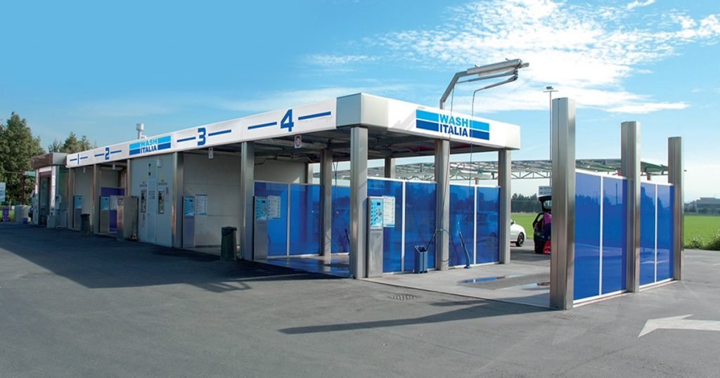 spalatorie self service Wash Italia 4+1 piste spalare
