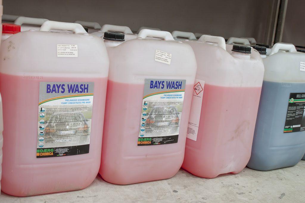 detergenti import italia Daerg Chimica spalatorii self-service