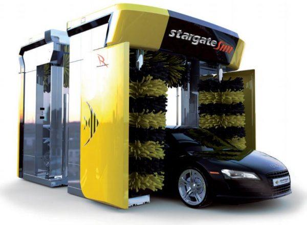 spalatorie automata cu perii si jet Stargate SH11