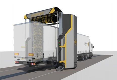 portal spalare camioane Startruck