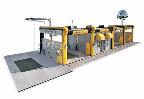 spalatorie self service cu structura Aquarama