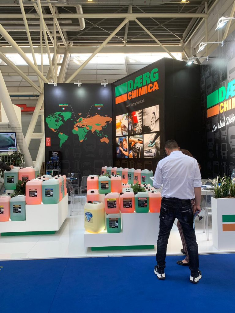 stand expozitional Daerg Chimica Autopromotec 2019 2
