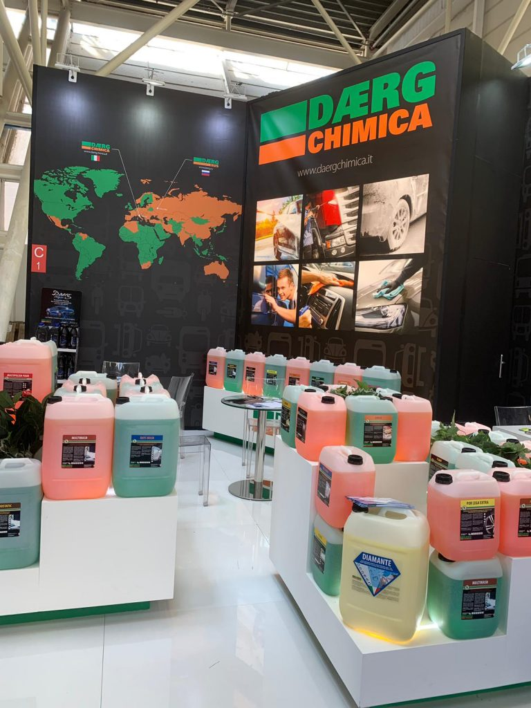stand expozitional Daerg Chimica Autopromotec 2019
