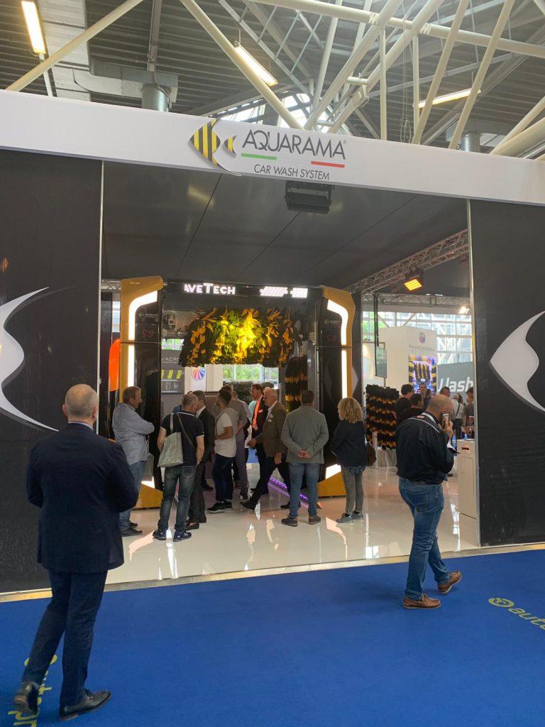 standul expozitional Aquarama Autopromotec 2019 2