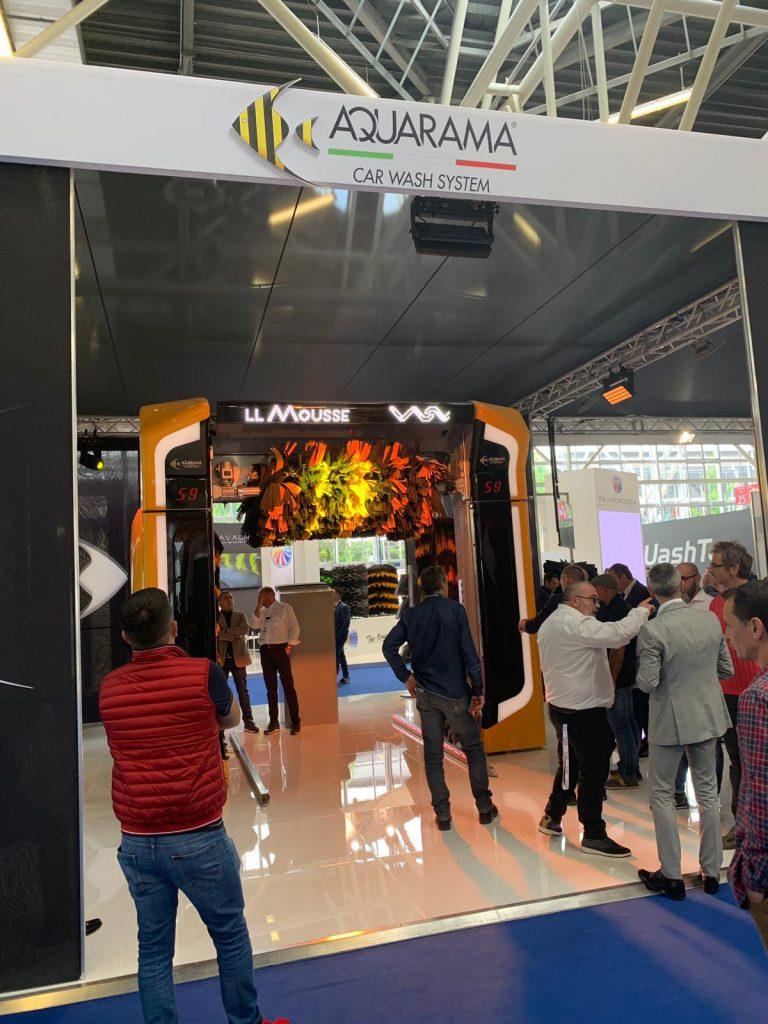 standul expozitional Aquarama Autopromotec 2019
