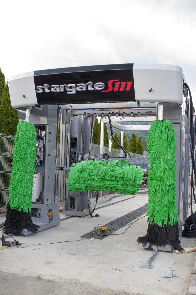 montaj spalatorii automate cu perii Stargate S111