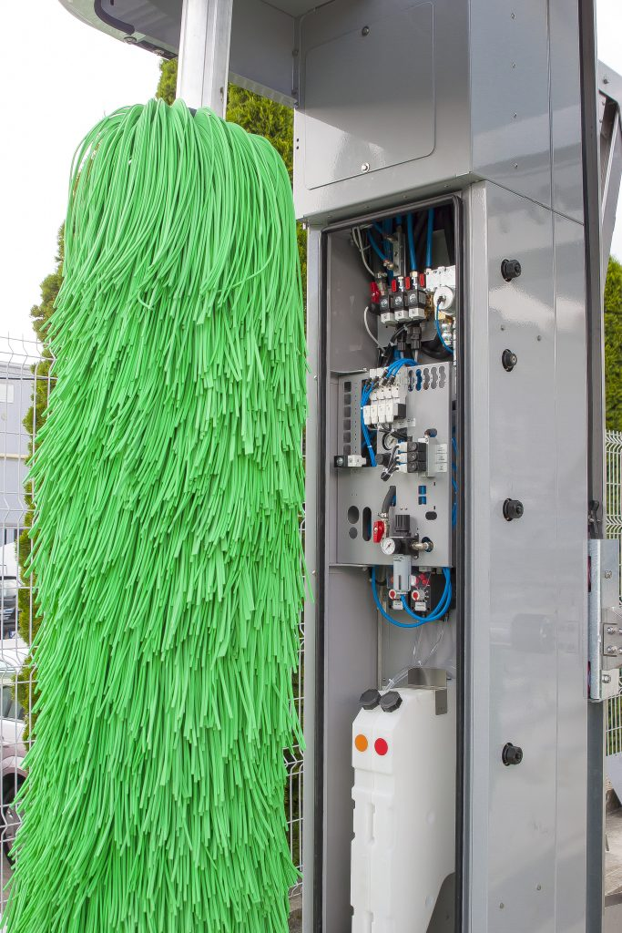 perie verticala si controlere electronice spalatorie automata